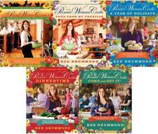 Ree Drummond PIONEER WOMAN COOKS Recipe Cook Books HARDCOVER Collection Set 1-5