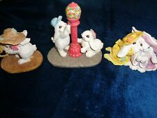 The Patchville Bunnies Collection 1994- 1998- 2000 Set of 3