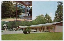 CHEROKEE NC Pink Motel 1950s Cars 1959 Chevrolet (60?)  Imapla 1959 Ford Convert