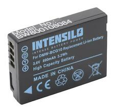 Akku für Panasonic Lumix DMC-3D1, DMC-TZ10, DMC-TZ18 890mAh 3.6V Li-Ion
