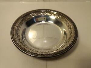 "Reed & Barton 6"" Silverplate Bowl #1203 hd1088"
