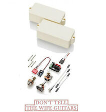 EMG P BASS IVORY FENDER REPLACEMENT SOLDERLESS PICKUP ( FREE WORLDWIDE SHIPPING)