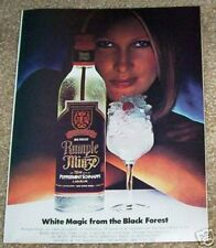 1985 ad page - Rumple Minze peppermint schnapps -Sexy Girl- vintage ADVERTISING