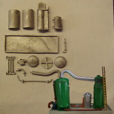 P&D Marsh N Gauge N Scale M40 Chemical-Water separation plant kit to paint