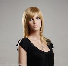 2015 new arrive Blonde Women Wigs Long Straight Natural Looking Good Quality Wig