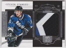 2011-12 Dominon Steven Stamkos Peerless Patch 3 Color Patch #11/25