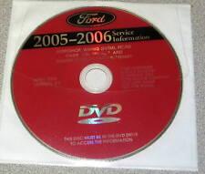 Ford 2005 Service Manuals DVD F-150 Aviator GT Focus LS