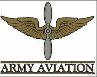 US ARMY  AVIATION AIR CORPS MILITARY CAR WINDOW DECAL