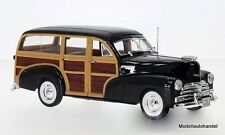 Chevrolet Fleetmaster 1948 schwarz/Holzoptik - 1:24 WELLY