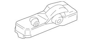 Genuine Ford Tire Pressure Sensor EB3Z-1A189-A