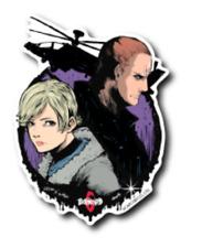 B-SIDE LABEL Sticker CAPCOM BIOHAZARD 6  Jake Muller & Sherry Birkin Japan NEW