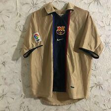 FC Barcelona Away football shirt 2001 - 2003 Nike Soccer Jersey Size M