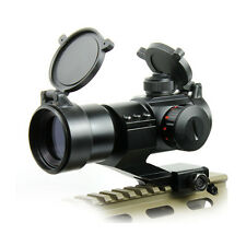 FLY Red Green Dot Sight Scope Tactical Reflex w/ 20mm Weaver Rail 4 BEFT