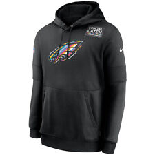 2020 Philadelphia Eagles Nike Crucial Catch Sideline Performance Pullover Hoodie