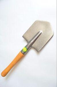 Titanium Army Shovel 100%Titanium! Hardwood Handle