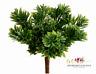 Succulent Grass Pick Greenery Flowers Green Jade Plant Fake Faux Artificial Bush