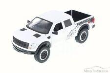 Ford F-150 SVT Raptor Pickup Truck White Jada Toys 96502WE 1/24 Diecast Car