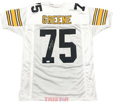 Mean Joe Greene Pittsburgh Steelers Signed Jersey HOF 87 Inscription TRISTAR