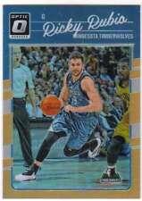 2016-17 Donruss Optic Basketball Orange Prizm /199 #127 Ricky Rubio Timberwolves
