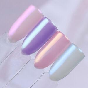 Mermaid Mirror Chrome Pigment Powder Nail Art Manicure Design, UK Seller