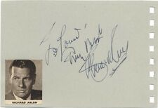 In Mel Torme Signed Index Card Signature Autographed Vintage Auto Excellent Quality