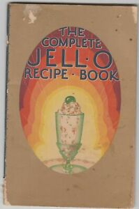 1929 Complete JELL-O Recipe Book