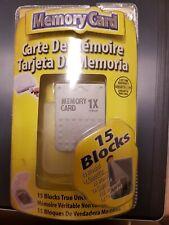 Intec PlayStation Memory Card 1X 15 Blocks