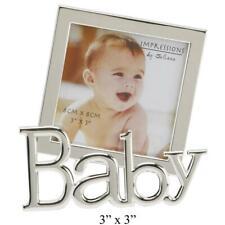 Der versilberte Fotorahmen Baby - Bilderrahmen Silber