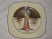 An Old H&K Tunstall Shylock Hand Painted Cabinet Display Series Ware Plate