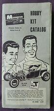 Vintage Monogram Hobby Kit catalog, 5 fold, 1960s. Rare and original.