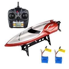 RC RTR Electric 2.4G High Speed Racing Boat H106 Anti-Capsize Two Batteries