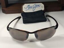 Maui Jim Makaha MJ Sport 405-10 Tortoise Sunglasses W/Maui Rose Polarized Lens