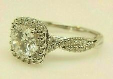 VERRAGIO CLASSIC 14K White Gold .41 Ct TW Diamond Engagement Ring Setting $2,700