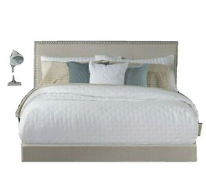 FULL / QUEEN Willow Nailhead Trim Upholstered Bed