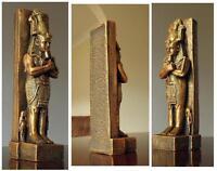 Cheops Egyptian Faraon figurine gold handmade