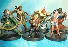 Dungeons & Dragons Miniatures Lot  Player Character Party Experienced !!  s114