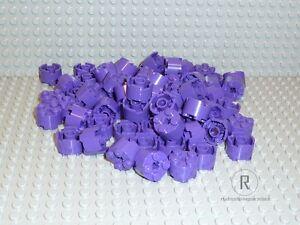 LEGO® 100 Runde Steine 2x2 lila purple 3941 Eisenbahn Friends Ninjago NEU R792