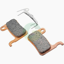 2 pairs Bicycle Sintered Metal Disc Brake Pads for SHIMANO XTR SAINT LX DEORE