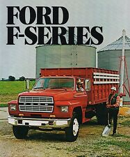 1982 Ford F-600/700/800 Truck Brochure / Specifications : DUMP,Conventional,4x4