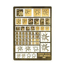 Forgeworld Renegade Milita etched brass Horus Heresy Chaos space marines 40k