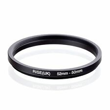 RISE(UK) 52-50 52-50mm  52mm-50mm Step Down Ring Filter Camera Adapter