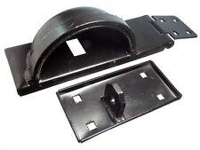 PK 12 barra di sicurezza destra PORTALUCCHETTO & Fiocco H/D + Lucchetto Protezione