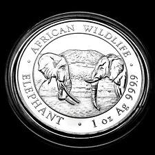 Somalia Elefant 2020 Silber Münze 1 Unze OZ Silver African Wildlife Elephant