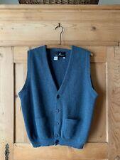 Peruvian Connection~ 100% Alpaca Gray Sweater Vest~ Sz M~ EUC