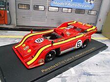 PORSCHE 917/10 917 Spyder GELO Interserie Norisring 1973 #6 G. Loos Spark 1:43