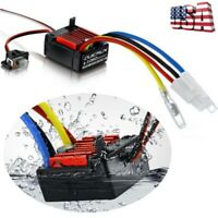 1060 60A Waterproof Brushed ESC Electronic Speed Controller For 1/10 RC Car Accs