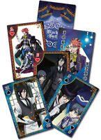 BLACK BUTLER - PLAYING CARD DECK - 52 CARDS - BRAND NEW - 51569