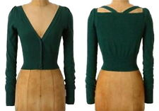 Anthropologie Kimmel Cardigan XSmall 0 2 Green Sweater Dress Topper Moth XS NWT