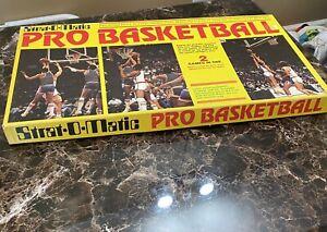 Strat-O-Matic PRO BASKETBALL Board Game 1988-89 Team Roster *READ DESCRIPTION*
