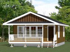 20x32 House - 640 sqft - Pdf FloorPlan - Model 3C